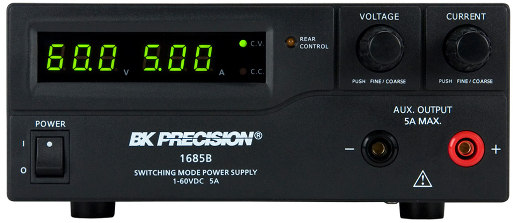 BK Precision 1685B Series 300W-360W Switching Bench DC Power Supplies