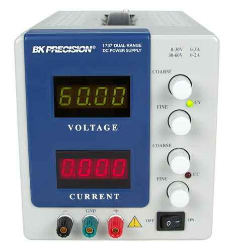 BK Precision 1737  Dual Range DC Power Supply (0-30V, 0-3A or 0-60V, 0-2A)