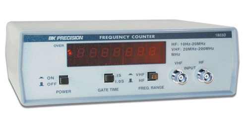 BK Precision 1803D 200 MHz Frequency Counter