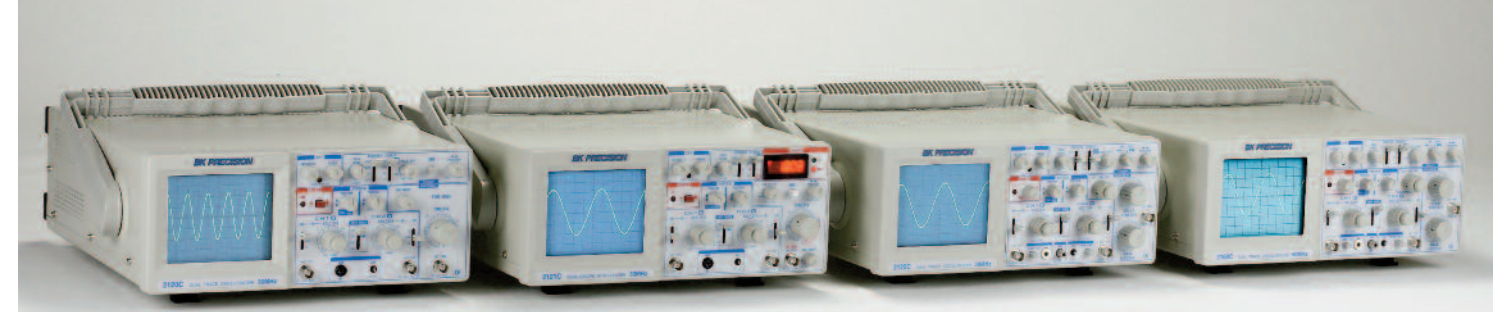 BK Precision 2160C 60 MHz Analog Oscilloscope with Probes