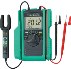 Kyoritsu KEWMATE 2012R Digital Multimeter with AC/DC Clamp Sensor