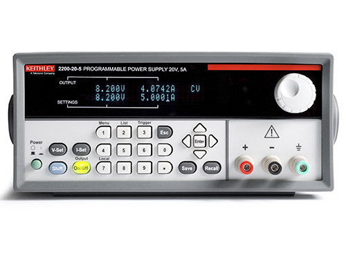 Tektronix - Keithley Series 2200 USB and GPIB Programmable DC Power Supplies