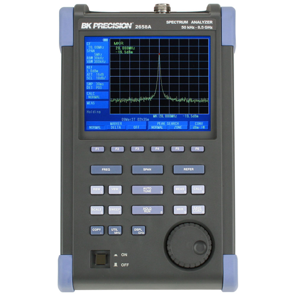 BK Precision 2650A Series Handheld Spectrum Analyzers
