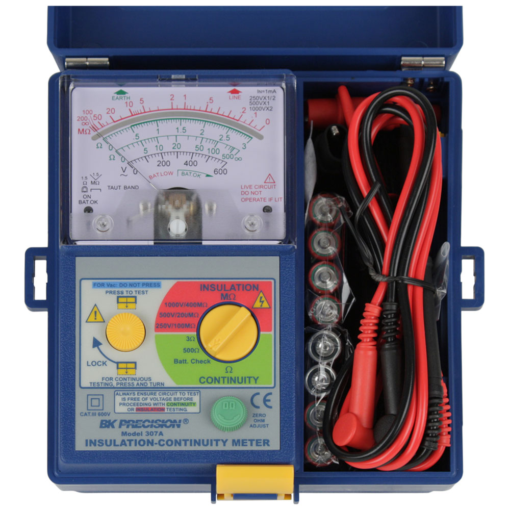 BK Precision 307A Analog Insulation & Continuity Meter