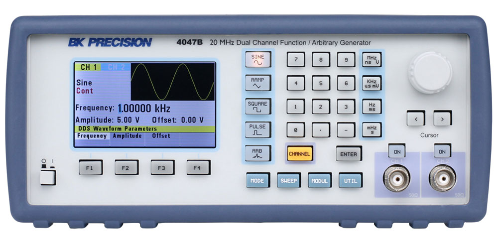 BK Precision 4047B 20 MHz Dual Channel Function / Arbitrary Generator