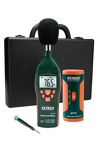 Extech 407732-KIT Type 2 Sound Meter Kit