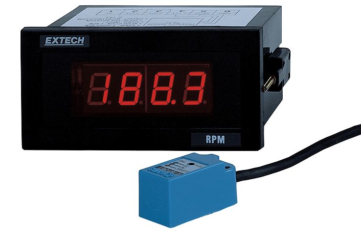 Extech 461950 Panel Mount Tachometer