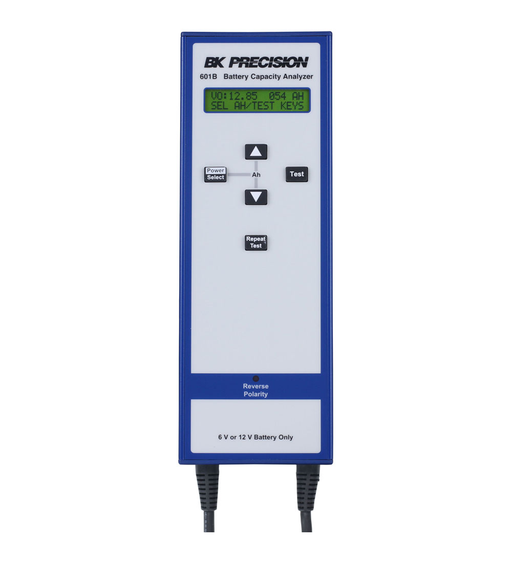 BK Precision 601B 6V & 12V Battery Capacity Analyzer