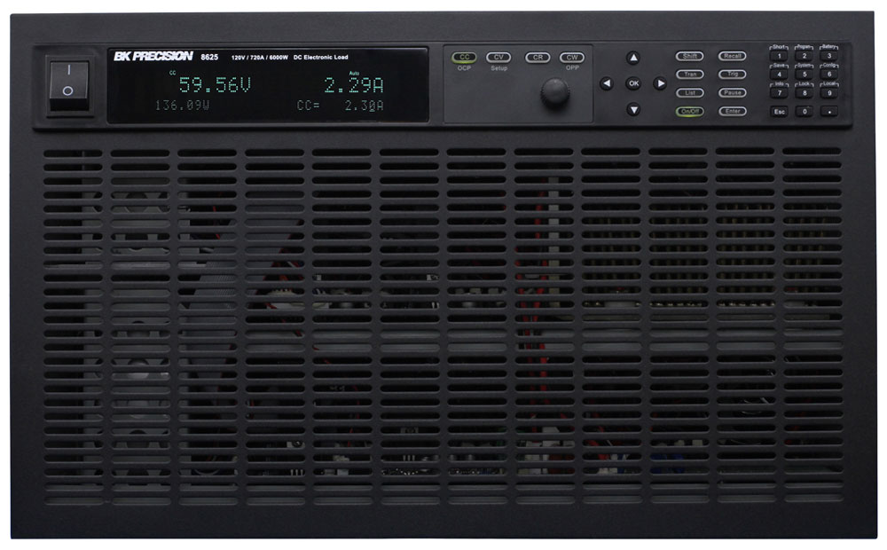 BK Precision 8600 Series Programmable DC Electronic Loads