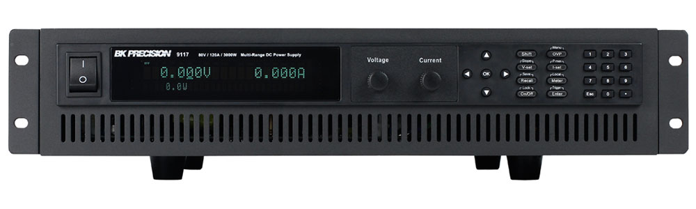 BK Precision 9115 Series Multi-Range Programmable DC Power Supplies