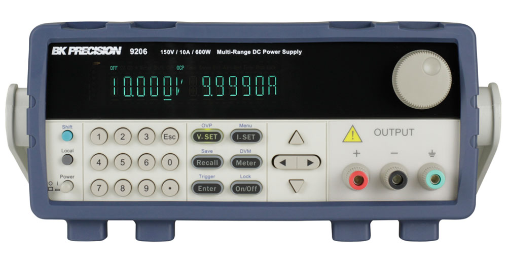BK Precision 9200 Series Multi-Range Programmable DC Power Supplies