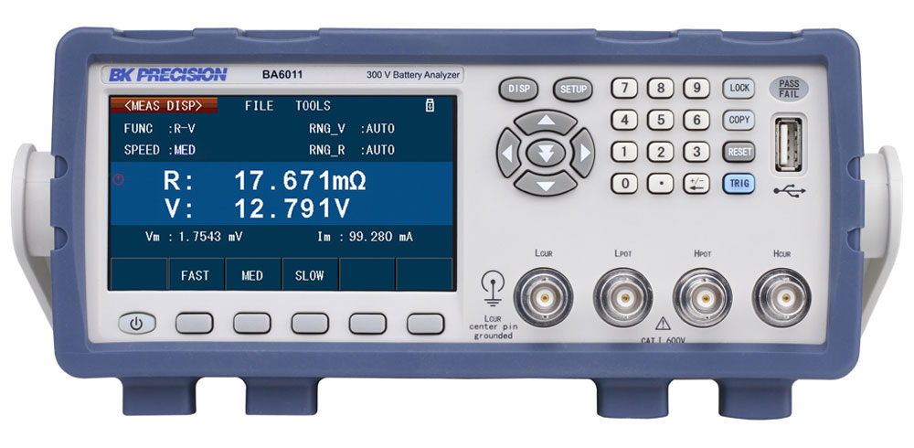 BK Precision BA6010 Series Battery Analyzers