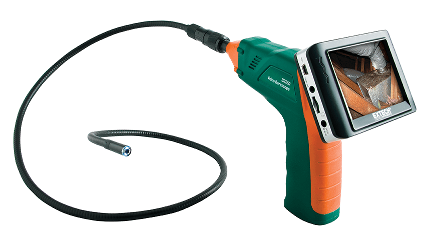 Extech BR250-4 Video Borescope/Wireless Inspection Camera