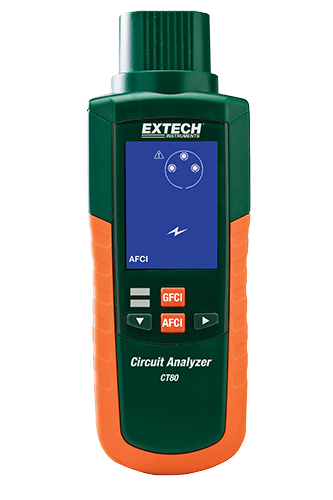 Extech CT80 AFCI, GFCI and AC Circuit Analyzer