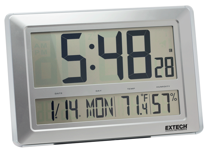 Extech CTH10A Digital Clock/Hygro-Thermometer