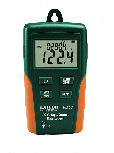 Extech DL160 Dual Input True RMS AC Voltage/Current Datalogger