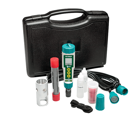 Extech DO600-K Waterproof ExStik II Dissolved Oxygen Meter Kit