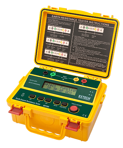 Extech GRT350 4-Wire Earth Ground Resistance/Resistivity Tester