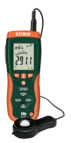 Extech HD450 Datalogging Heavy Duty Light Meter