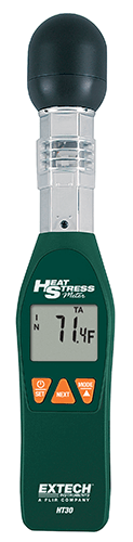 Extech HT30 Heat Stress WBGT (Wet Bulb Globe Temperature) Meter