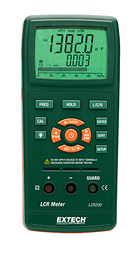 Extech LCR200 Passive Component LCR Meter