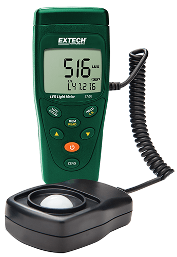 Extech LT45 Color LED Light Meter