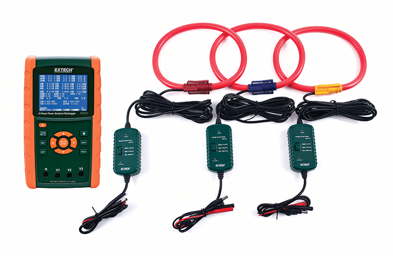 Extech PQ3450-30 3000 Amp Datalogging Power Analyzer