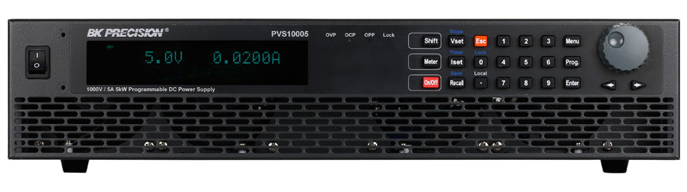 BK Precision PVS Series High Power Programmable DC Power Supplies