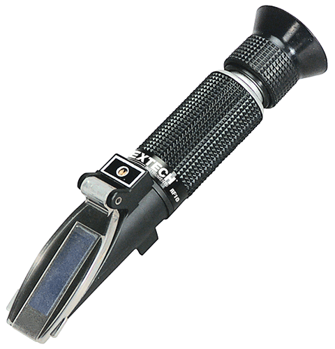 Extech RF12 Portable Brix Refractometer (0 to 18%) with ATC