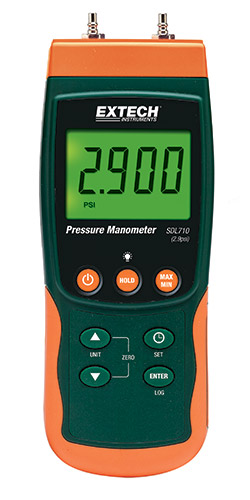 Extech SDL710 Differential Pressure Manometer/Datalogger