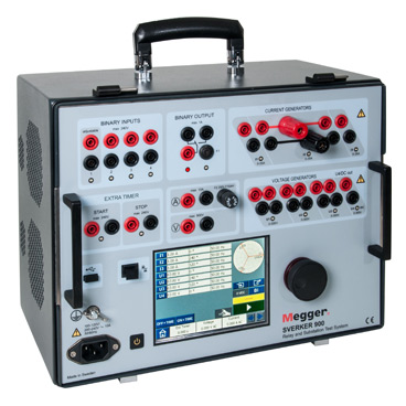 Megger SVERKER900 Relay and Substation Test System