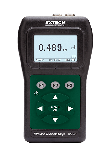 Extech TKG150 Digital Ultrasonic Thickness Gauge/Datalogger