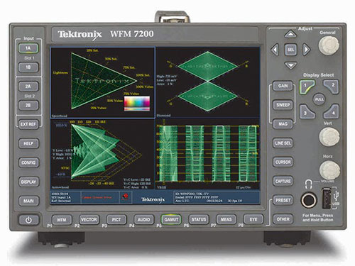 Tektronix WFM/WVR7200 Waveform Monitor