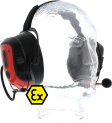 Ecom Smart Muff Intrinsically Safe Headset