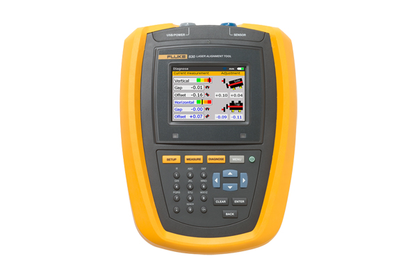 Fluke 830 Laser Shaft Alignment Tool