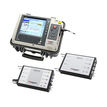 Megger Frax99, Frax101 & Frax150 Sweep Frequency Response Analyzers