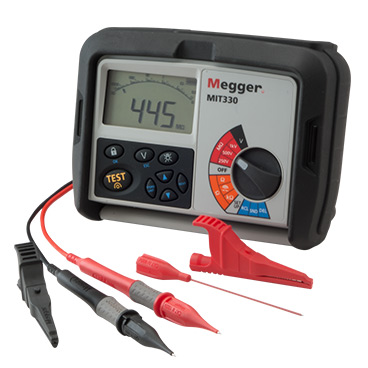 Megger MIT300 Insulation and Continuity Testers Series