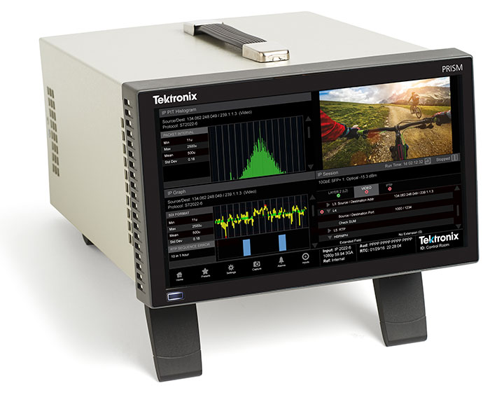 Tektronix PRISM Media Monitoring and Analysis Platform