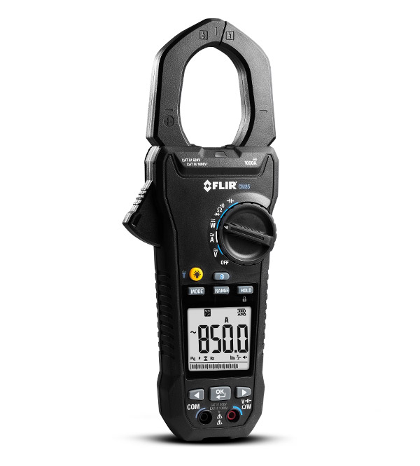 Flir CM82 True RMS AC/DC Power Clamp Meter, 600A
