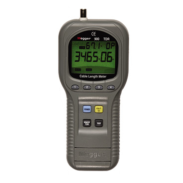 Megger TDR900 Hand-held Time Domain Reflectometer/Cable Length Meter
