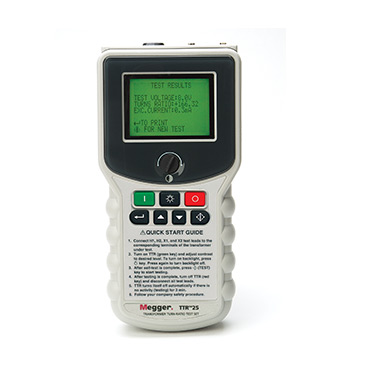 Megger TTR25-1 Hand-held Transformer Turns Ratio Tester