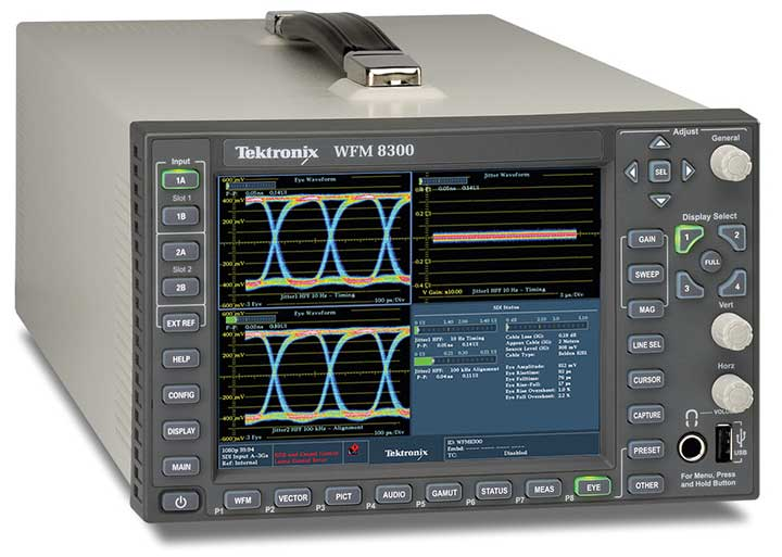 Tektronix WFM / WVR8000 Series Waveform Monitor