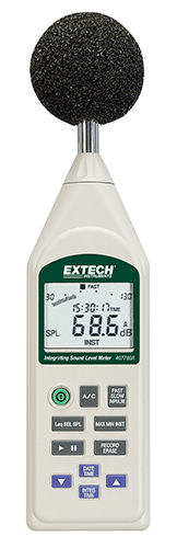 Extech 407780A Integrating Sound Level Meter with USB