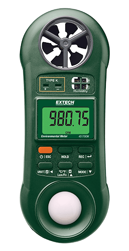 Extech 45170CM 5-in-1 Environmental Meter