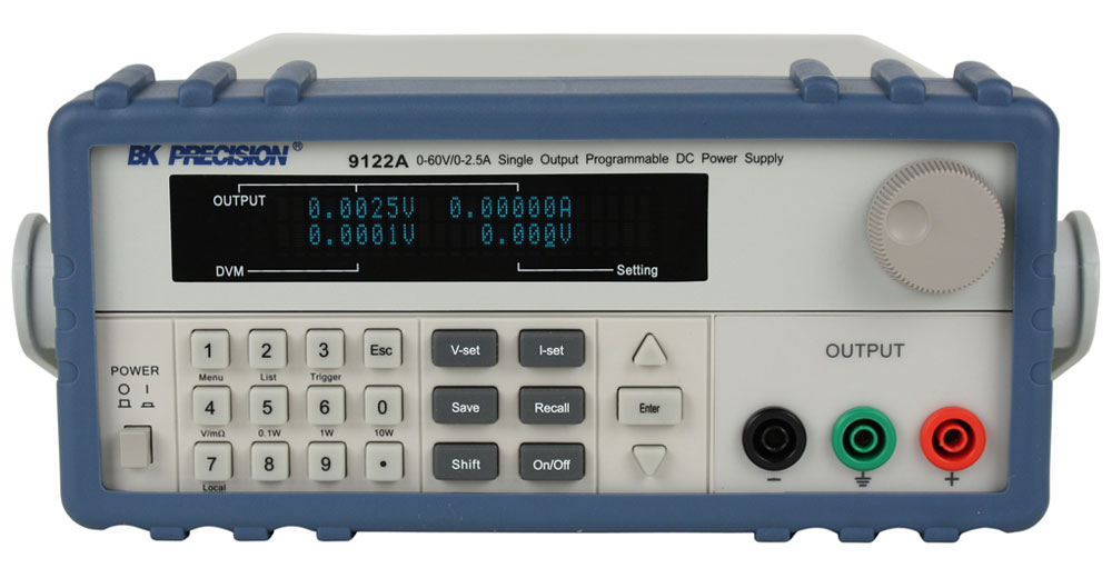BK Precision 9120A Series Programmable DC Power Supplies