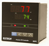 Extech 96VFL13 1/4 DIN Temperature PID Controller with 4-20mA Output