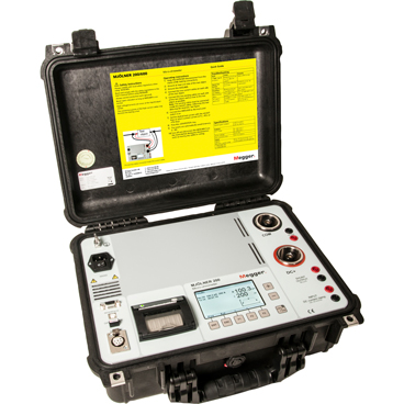 Megger MJOLNER200 Micro-Ohmmeter with Dual-Ground Safety