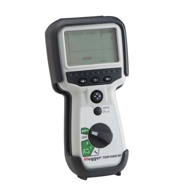 Megger TDR1000/3P Handheld TDR Time Domain Reflectometer
